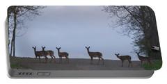 Deer Me Portable Battery Charger by Richard Engelbrecht
