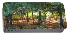 1011 - Deer Of Croswell I Portable Battery Charger