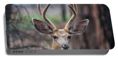 Deer Stare Portable Battery Charger