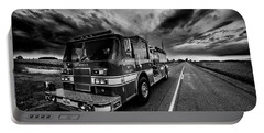 Deerfield Fire Dept Portable Battery Charger by Kevin Cable