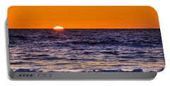 Sunset - Del Mar, California, View 2 Portable Battery Charger