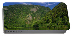 Portable Battery Charger featuring the photograph Delaware Water Gap From New Jersey by Raymond Salani III
