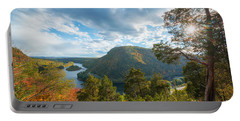Delaware Water Gap In Autumn Portable Battery Charger