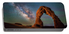Portable Battery Charger featuring the photograph Delicate Air Glow by Darren White