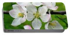 Delicate Apple Blossoms Portable Battery Charger