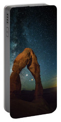 Delicate Arch Moonset Portable Battery Charger