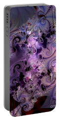 Delicate Lavender Forms Portable Battery Charger