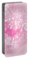 Delicate Pink Agate Portable Battery Charger