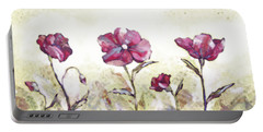 Delicate Poppy II Portable Battery Charger