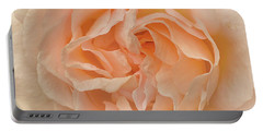 Delicate Rose Portable Battery Charger by Jacqi Elmslie