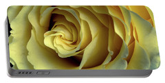 Delicate Rose Petals Portable Battery Charger