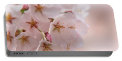 Delicate Spring Blooms Portable Battery Charger