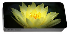 Delicate Water Lily Portable Battery Charger
