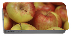 Delicious Apple Fruit Background Portable Battery Charger