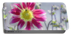 Portable Battery Charger featuring the photograph Delicious Dahlia by Belinda Greb