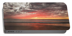 Delmar Beach San Diego Sunset Img 1 Portable Battery Charger