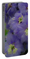 Delphinium Blues Portable Battery Charger