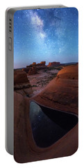 Portable Battery Charger featuring the photograph Delta Night by Dustin LeFevre