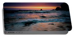 Demartin Beach Sunset Portable Battery Charger