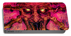 Demon Portable Battery Charger by David Mckinney