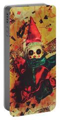 Demonic Possessed Joker Doll Portable Battery Charger