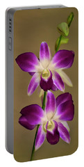 Dendrobium Orchids Portable Battery Charger
