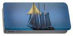 Denis Sullivan - Three Masted Schooner Portable Battery Charger