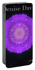 Denise Davis Portable Battery Charger by Ahonu