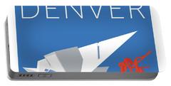 Denver Art Museum/blue Portable Battery Charger