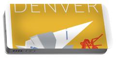 Denver Art Museum/gold Portable Battery Charger