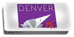 Denver Art Museum/purple Portable Battery Charger