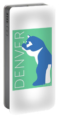Denver Blue Bear/aqua Portable Battery Charger