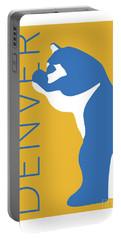 Denver Blue Bear/gold Portable Battery Charger