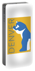 Denver Blue Bear/gold Portable Battery Charger