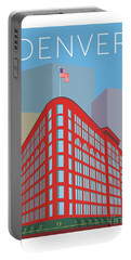Denver Brown Palace/blue Portable Battery Charger