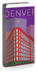 Denver Brown Palace/purple Portable Battery Charger