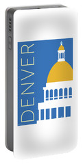 Denver Capitol/blue Portable Battery Charger