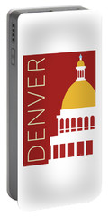 Denver Capitol/maroon Portable Battery Charger