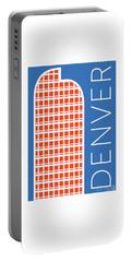 Denver Cash Register Bldg/blue Portable Battery Charger