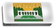 Denver Cheesman Park/gold Portable Battery Charger