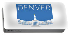 Denver City And County Bldg/blue Portable Battery Charger