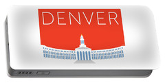 Denver City And County Bldg/orange Portable Battery Charger