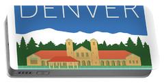 Denver City Park/blue Portable Battery Charger