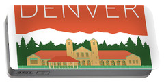 Denver City Park/coral Portable Battery Charger