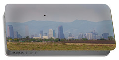 Denver Colorado Pretty Bird Fly By Portable Battery Charger by James BO Insogna