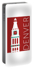 Denver D And F Tower/maroon Portable Battery Charger