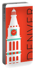 Denver D And F Tower/orange Portable Battery Charger