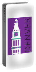 Denver D And F Tower/purple Portable Battery Charger