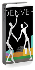 Denver Dancers/black Portable Battery Charger