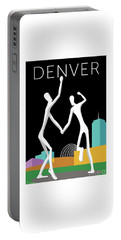 Denver Dancers/black Portable Battery Charger